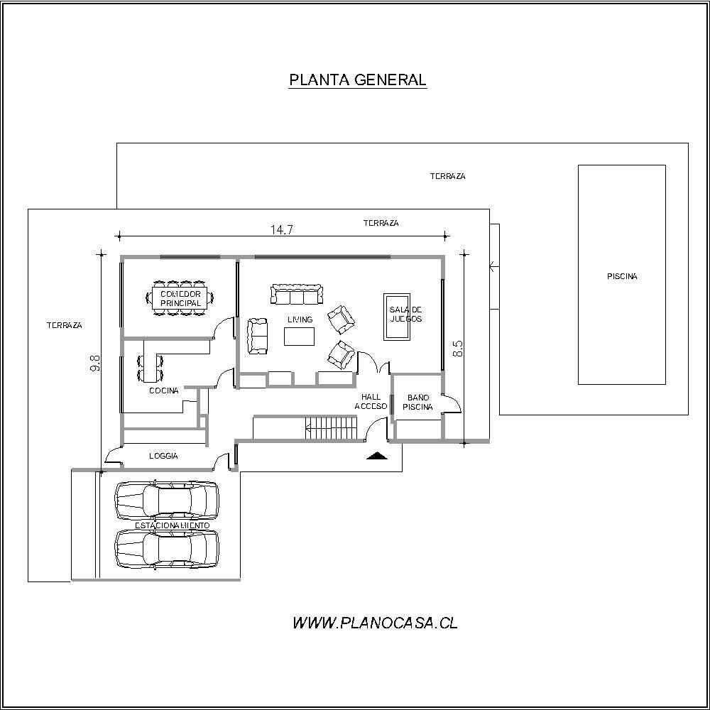 Planos casa anamur planos de casas tienda de - Planos de arquitectos ...